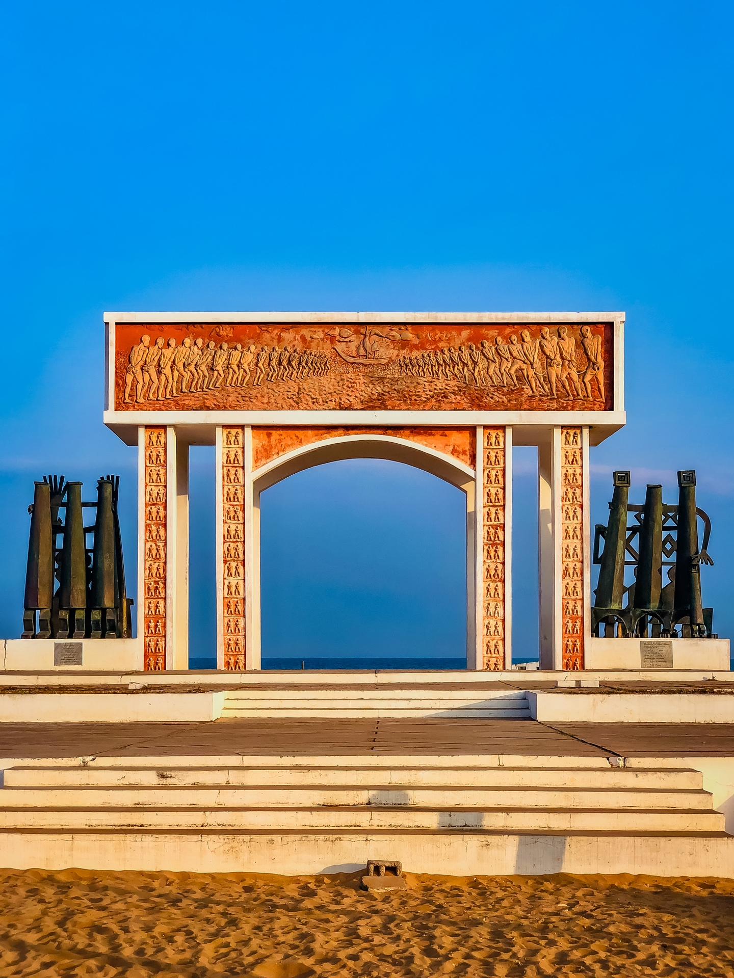 Africa, free, photo, tourism, the door of no return, beach, monument, discovery, historic place