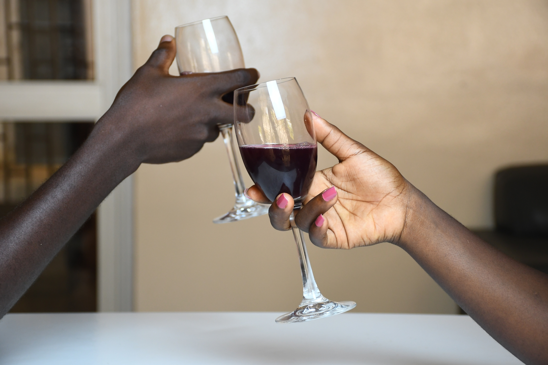 Africa, free, photo, toast, glass, wine, drink, celebration, date, couple, lovers, romance, party, dinner, diet, nutrition, taste, people