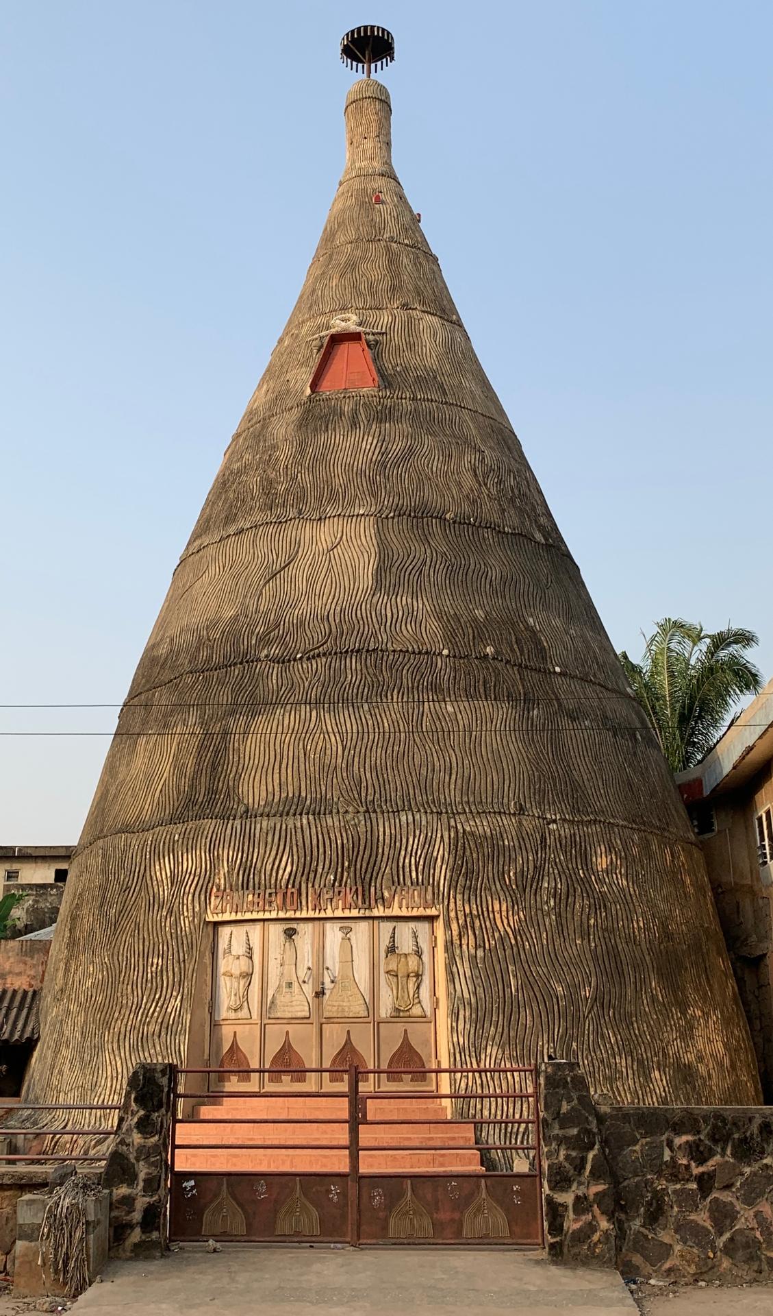 Africa, free, photo, zangbeto, religion, worship, faith, traditional, construction, building, architecture, vaudou temple, voodoo, vodoun, divinity, sacred place